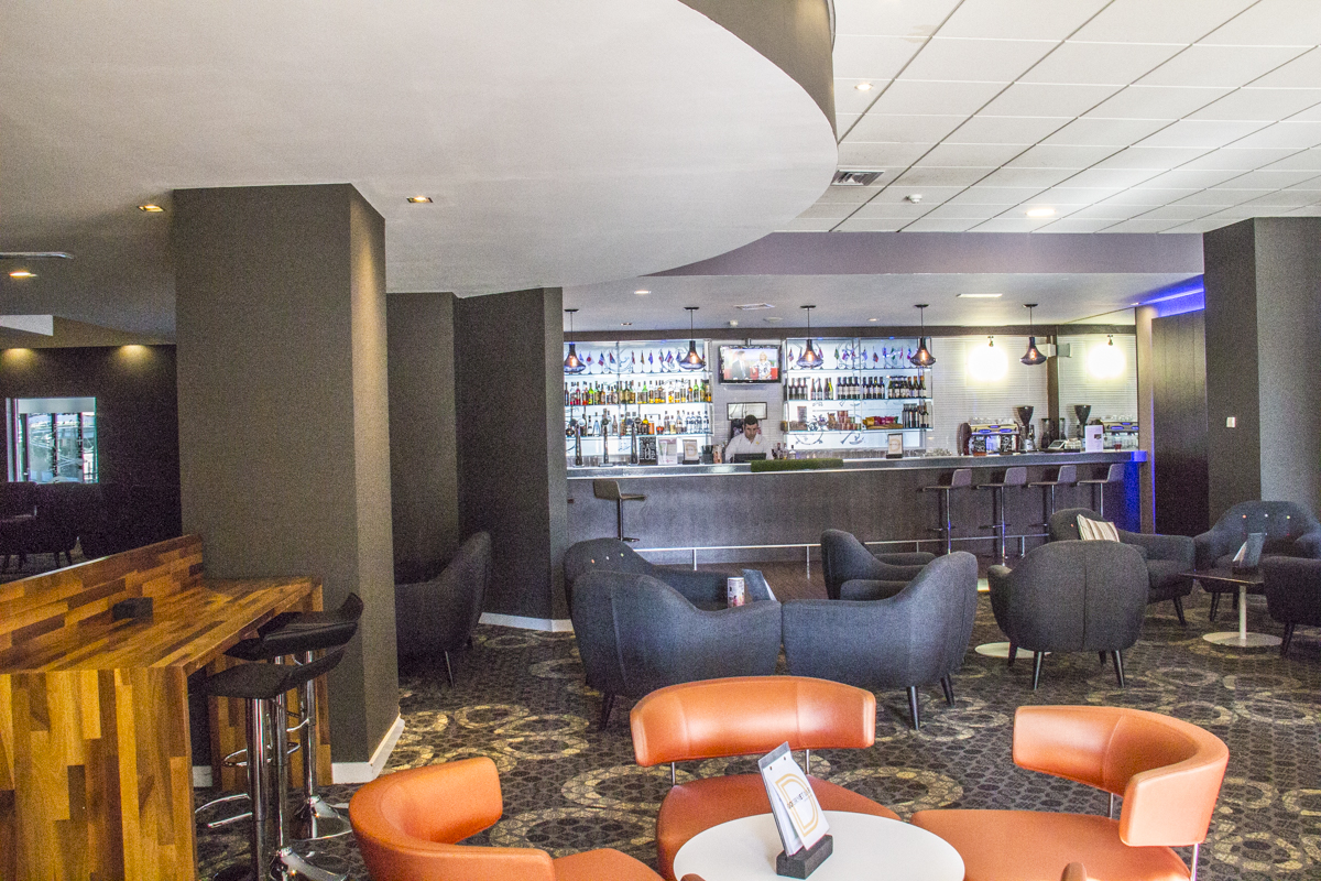 Bar and lounge are in the Novotel, Fishergate in York 1138