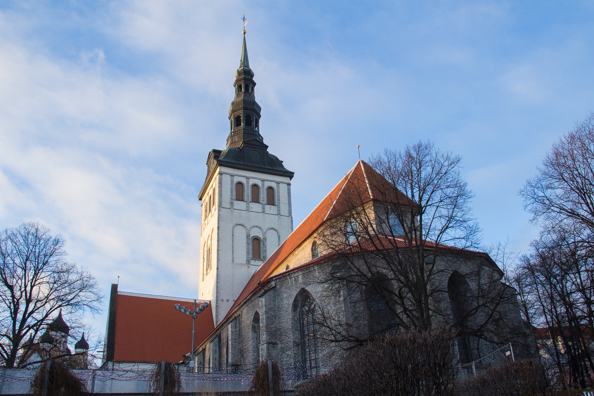 Church of Saint Nicholas in Tallinn, Estonia
