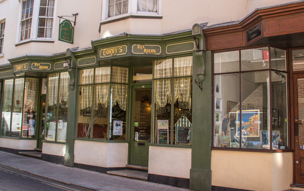 Corby's Tea Rooms in Ramsgate, Thanet, Kent