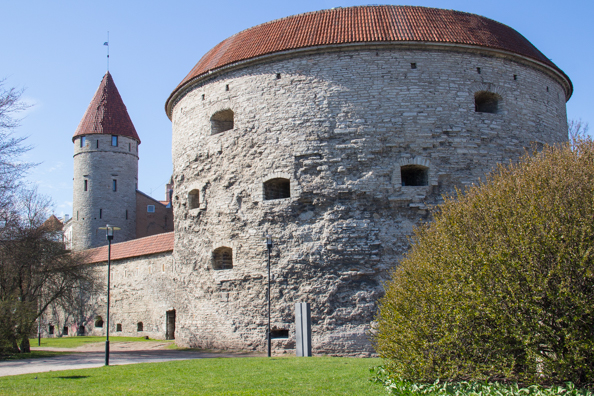 Fat Margaret Cannon Tower in Tallinn, Estonia