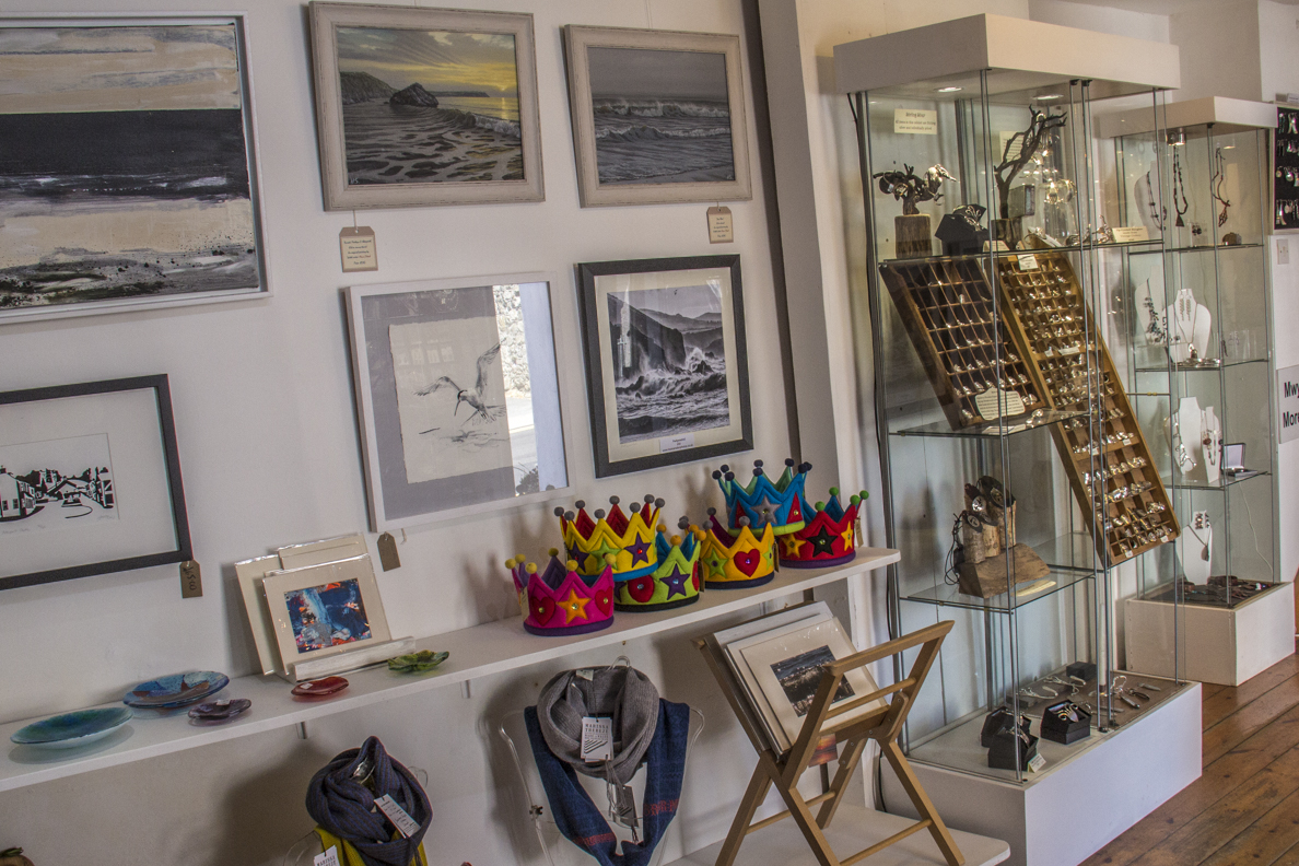 Inside the Newport Collective in Newport, Pembrokeshire, Wales   8674