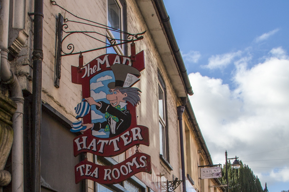 Mad Hatter Tea Rooms in Lyndhurst, New Forest, England