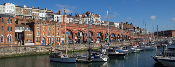 Ramsgate - Touched by Royalty and Saved by its Tunnels