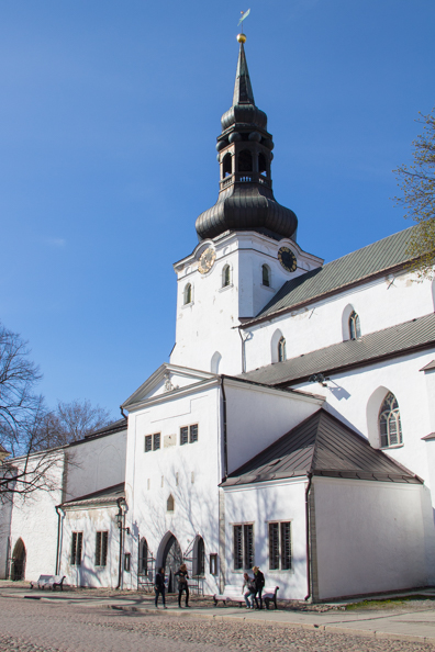 The cathedral of Saint Mary the Virgin, Tallinn in Estonia