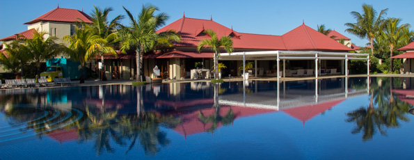 Ten out of ten for the Tamassa hotel at Bel Ombre on Mauritius